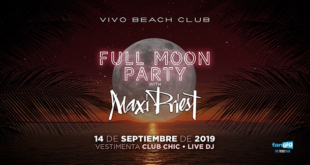 Full Moon Party con Maxi Priest - Vivo Beach Club