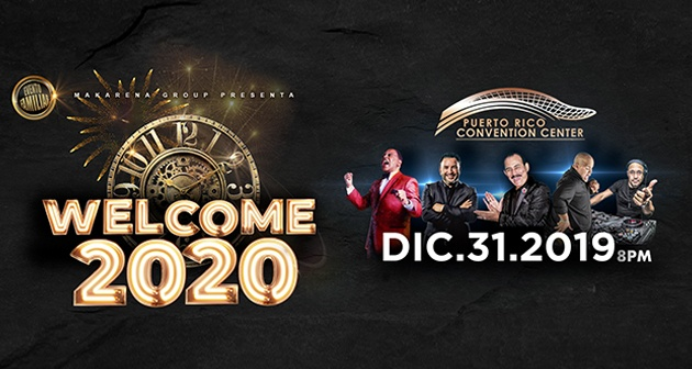 ¡Welcome 2020 junto a Wilfrido Vargas, Charlie Aponte y Joseph Fonseca! - Centro de Convenciones de Puerto Rico, San Juan