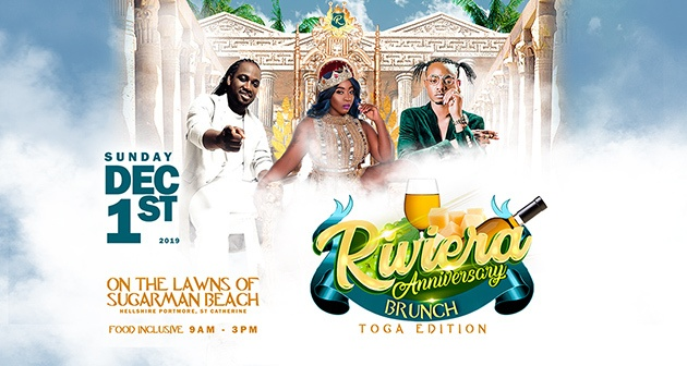 Riviera Anniversary Brunch - The Toga Edition