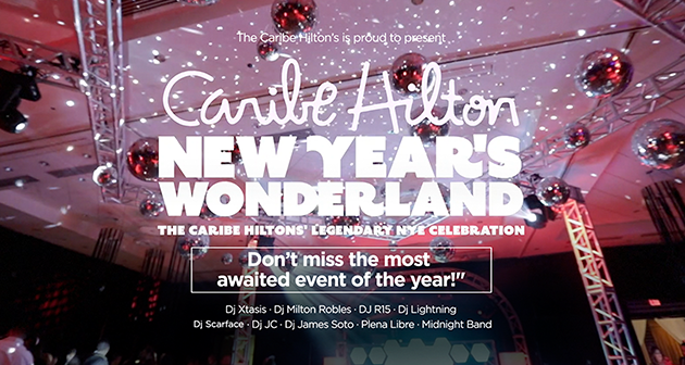 New Year's Wonderland - Caribe Hilton