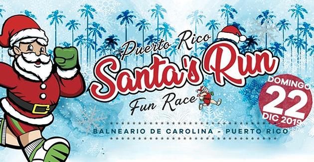 Santa's Run 5K - Balneario de Carolina