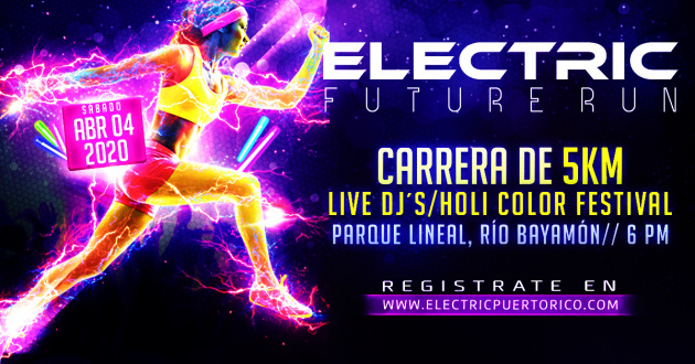 Electric Future Run 5K - Parque Lineal, Bayamón