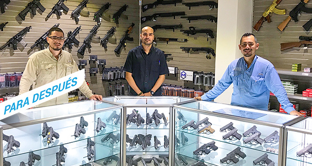 AAA Armory - 2 Localidades donde redimir