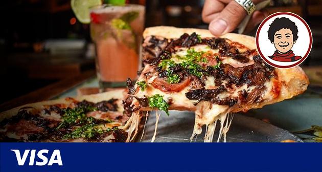 Gana con Visa y Gustazos en Pirilo Pizza Rústica - 3 Localidades