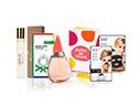 Preciosa Box #1 - $49 por Perfume Gotas de Color de Agatha Ruiz De La Prada 100ml + Iroha BLKTIS Detox 23ml + Iroha Black Nose Strip Detox + BNT Phone Ring Holder + Tous Touch Luxury 15ml Spray + Preciosa Tote Bag