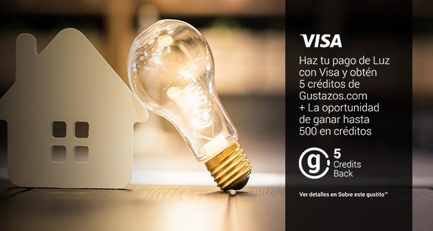 Gana con Visa y Gustazos al pagar tu recibo de luz